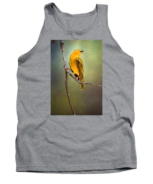 Yellow Bird Tank Top