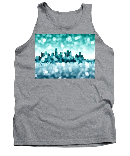 Los Angeles California Skyline Tank Top