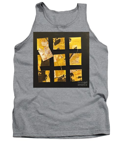 10 Square Tank Top by Gallery Messina