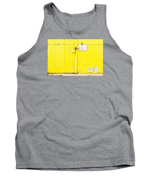 Yellow Metal  Tank Top
