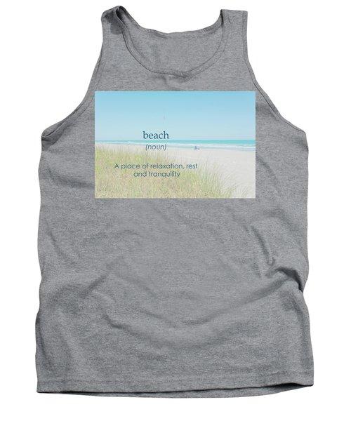 10967 Beach Tranquility Tank Top