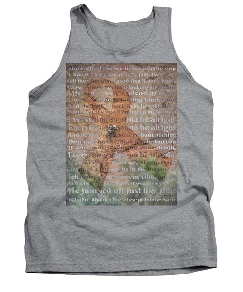11059 Everything Will Be Alright Tank Top