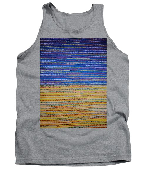 Tank Top featuring the painting Identity by Kyung Hee Hogg