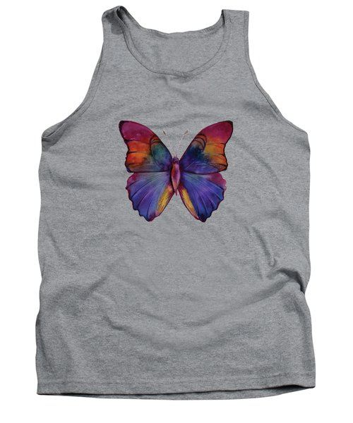 13 Narcissus Butterfly Tank Top by Amy Kirkpatrick