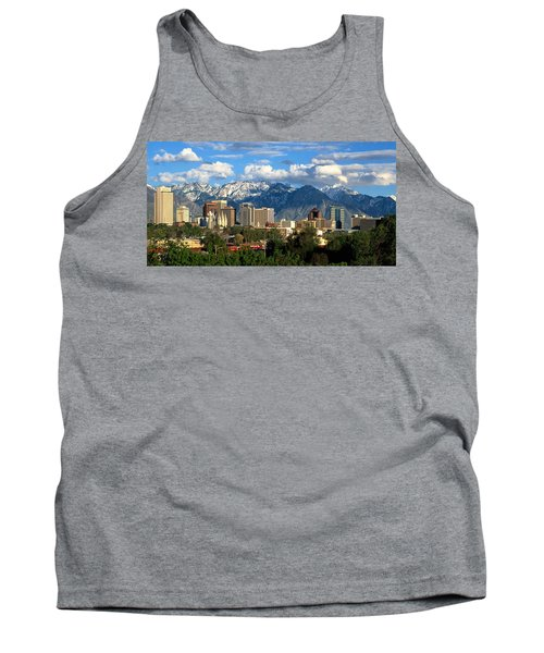 Salt Lake City Skyline Tank Top