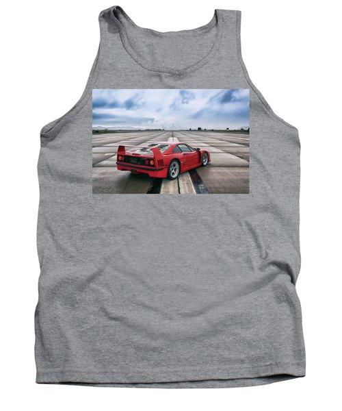 #ferrari #f40 #print Tank Top