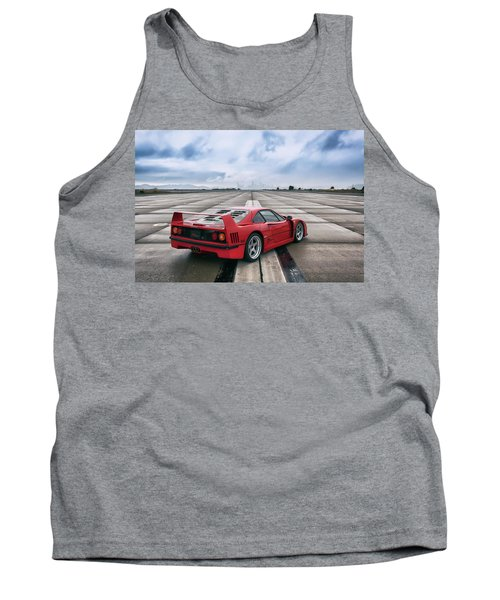 Tank Top featuring the photograph #ferrari #f40 #print by ItzKirb Photography