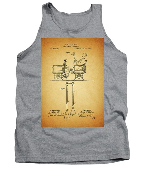 1889 Foot Rest Patent Tank Top