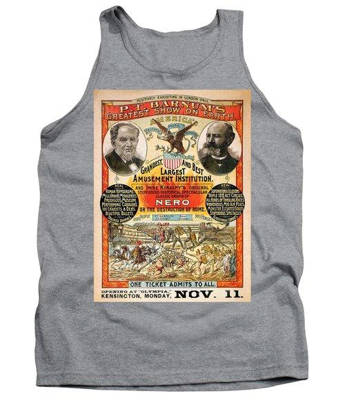 1890 - Circus Poster Tank Top