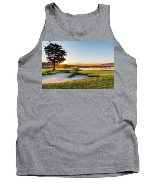 18th At Pebble Beach Tank Top