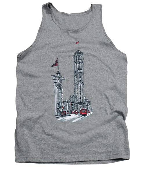 1908 Times Square,ny Tank Top