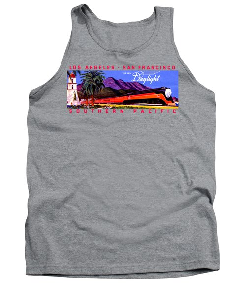 1922 Daylight Railroad Train Tank Top