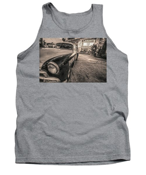 1952 Chevy Black And White Tank Top