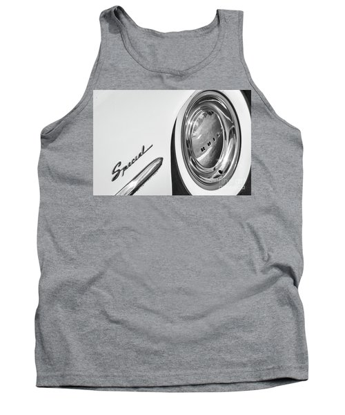 Tank Top featuring the photograph 1953 Special Monotone by Dennis Hedberg