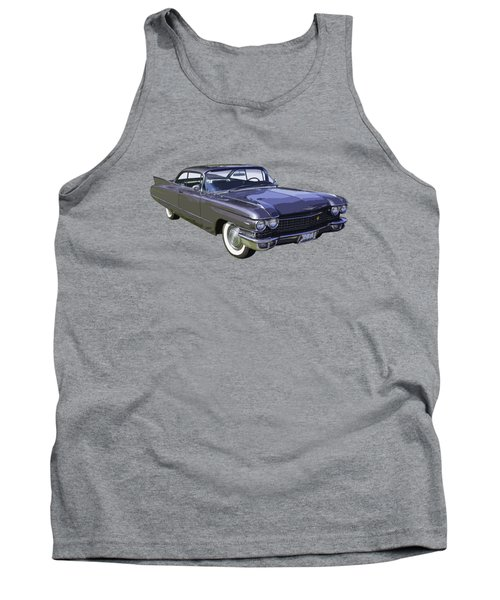 1960 Cadillac - Classic Luxury Car Tank Top by Keith Webber Jr