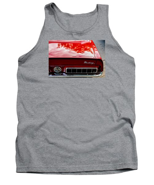 Tank Top featuring the photograph 1967 Mustang by M G Whittingham