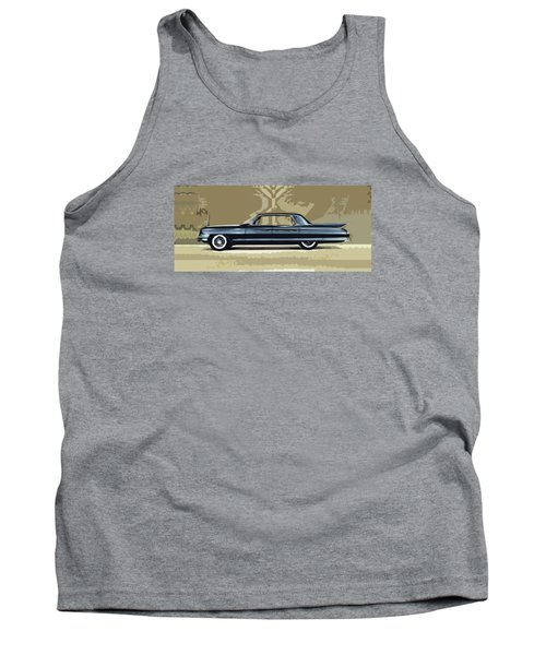1961 Cadillac Fleetwood Sixty-special Tank Top by Bruce Stanfield