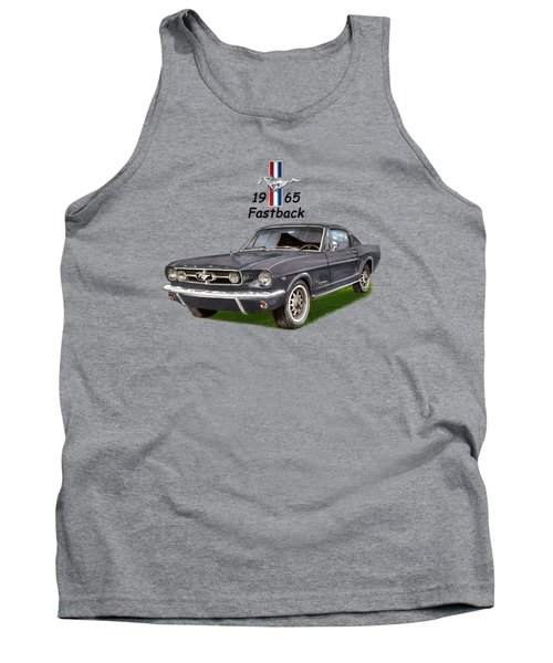 Mustang Fastback 1965 Tank Top