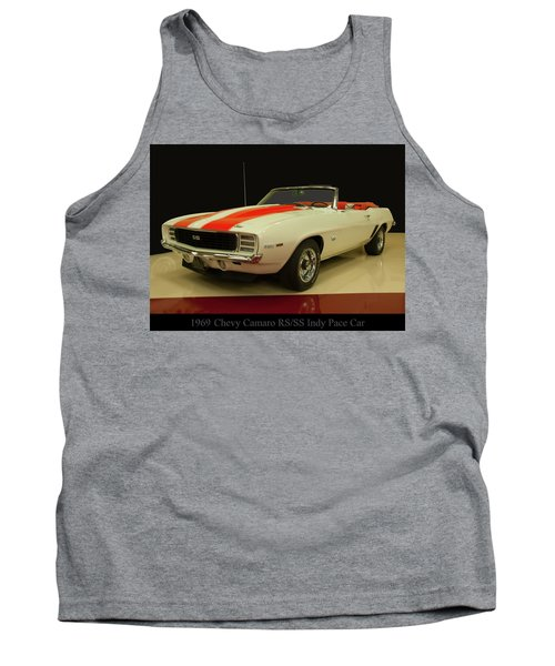 1969 Chevy Camaro Rs/ss Indy Pace Car Tank Top