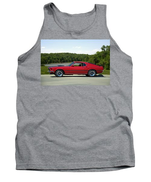 1969 Mustang Mach 1 Tank Top by Tim McCullough
