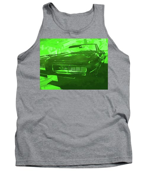 1969 Pontiac Gto Convertible Pop Green Tank Top