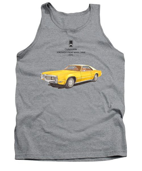 1970 Oldsmobile Toronado Tank Top by Jack Pumphrey
