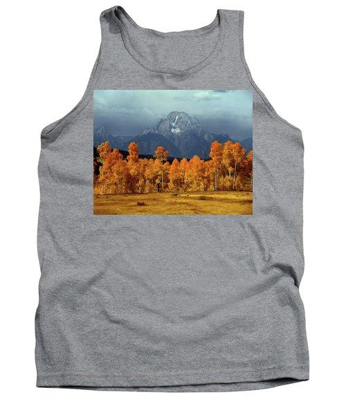 1m9235 Mt. Moran In Autumn Tank Top