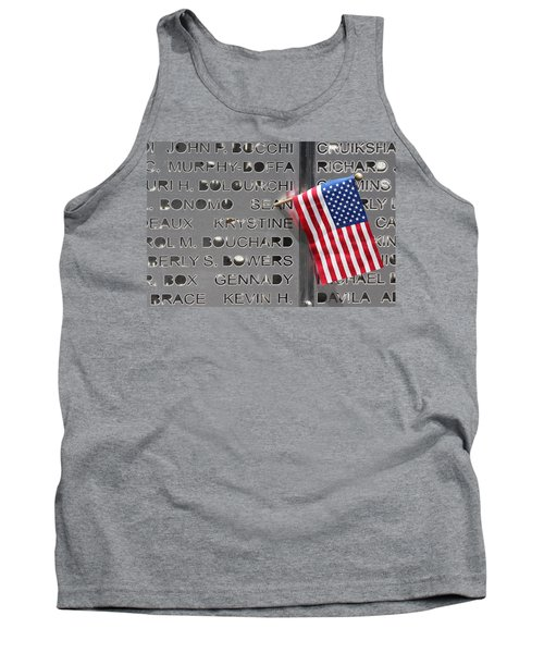9-11 Memorial Rocky Point New York Tank Top by Bob Savage