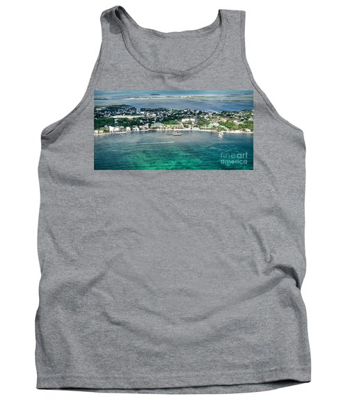 Ambergris Caye Aerial View Tank Top
