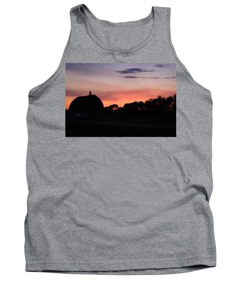 Barn Sunset Tank Top
