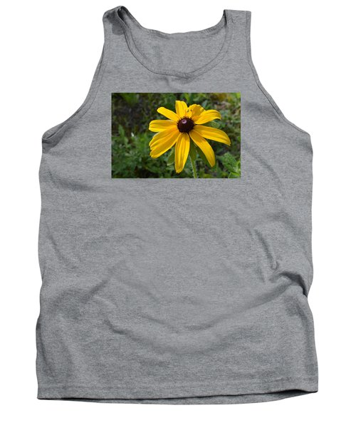 Tank Top featuring the photograph Brown Eyed Susan  by Lyle Crump