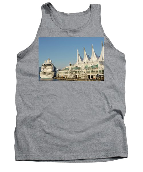 Canada Place Tank Top by Ross G Strachan