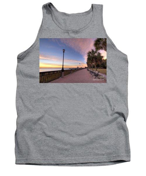 Charleston Waterfront Park Sunrise  Tank Top
