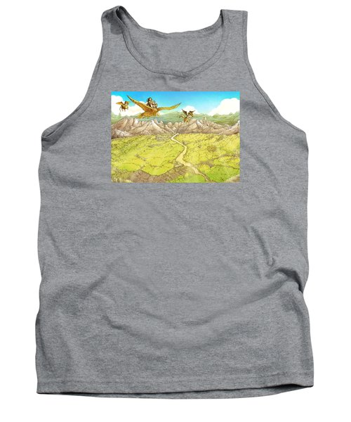 Chiricahua Mountains Tank Top by Reynold Jay