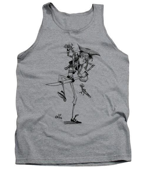 Clumsy Pirate Tank Top
