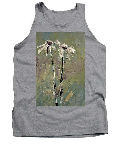 Cone Flowers Tank Top by Jim Vance