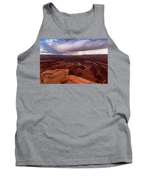 Tank Top featuring the photograph Dead Horse Point by Jay Stockhaus