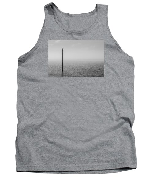 Fog On The Cape Fear River Tank Top