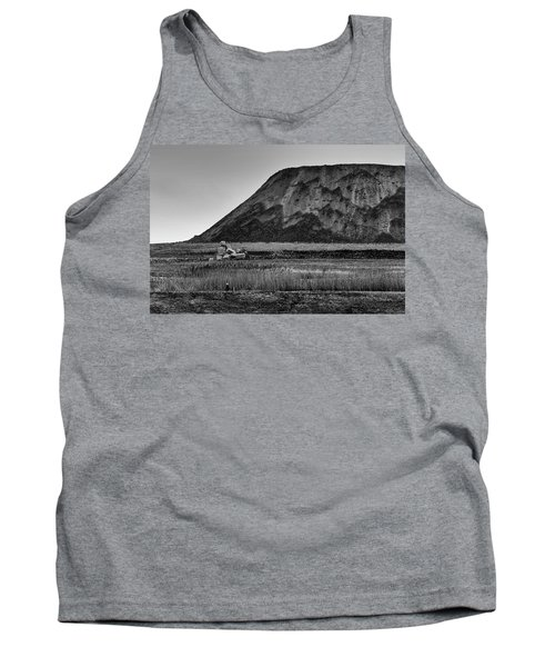 Tank Top featuring the photograph Fresh Kills by Steven Richman