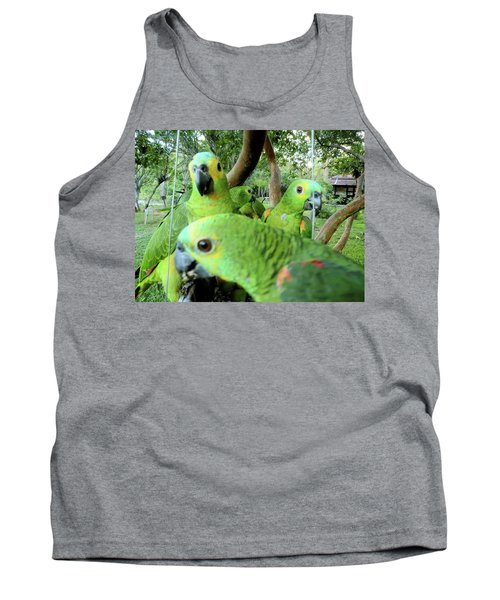 Tank Top featuring the photograph Happy Hour by Beto Machado