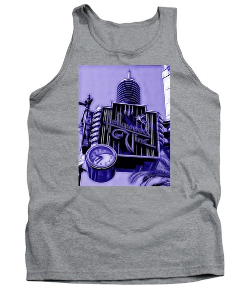 Hollywood And Vine Street Sign Collection Tank Top