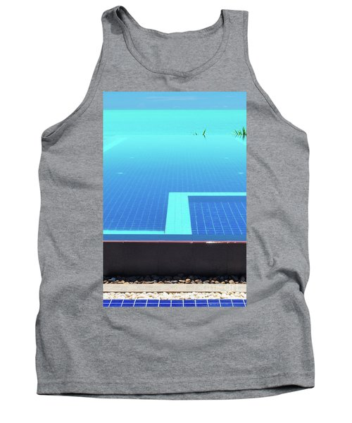 Tank Top featuring the photograph Infinity Pool by Atiketta Sangasaeng