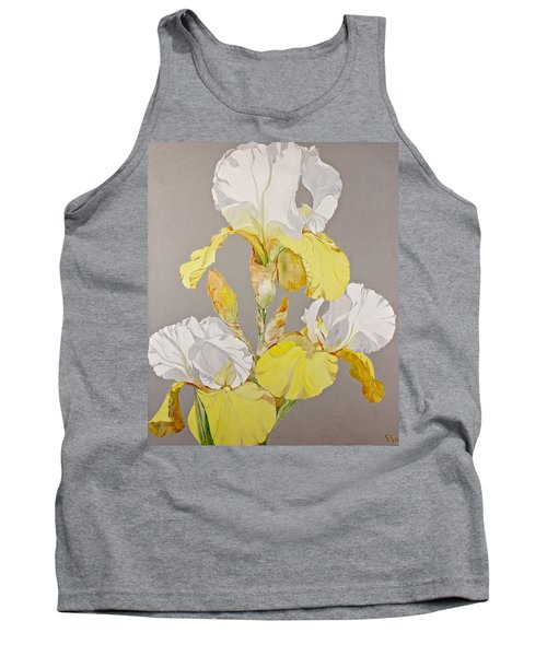 Irises-posthumously Presented Paintings Of Sachi Spohn  Tank Top