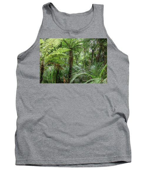 Tank Top featuring the photograph Jungle Ferns by Les Cunliffe