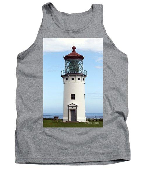 Kilauea Lighthouse On Kauai Tank Top