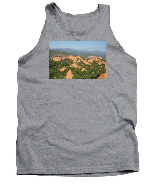 Tank Top featuring the photograph Las Medulas by Christian Zesewitz
