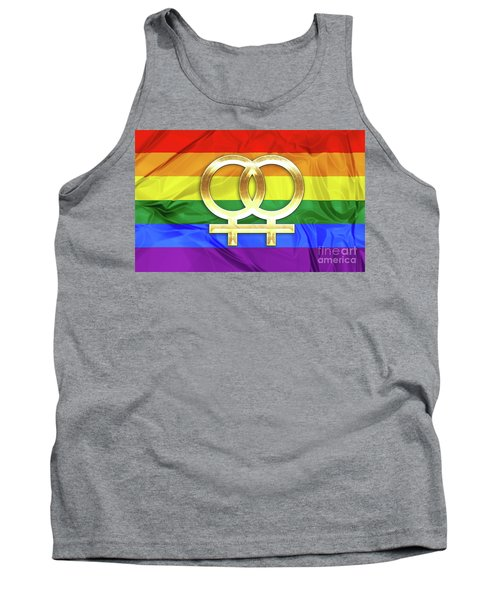 Lesbian Symbols Tank Top