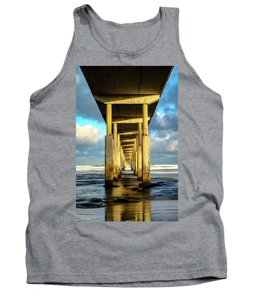 Morning Reflections Tank Top by Joseph S Giacalone