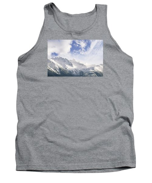 Mountains And Clouds Tank Top by Michele Cornelius