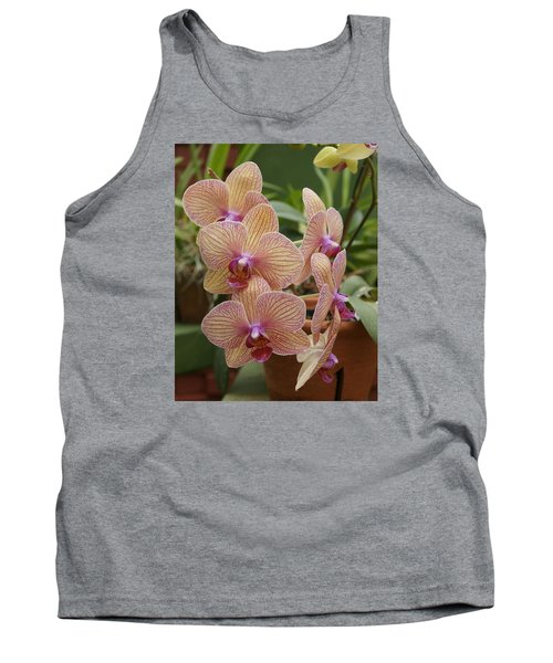 Tank Top featuring the photograph Orchid by Christian Zesewitz